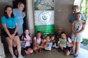 Szolnoki gyerekek természetismereti foglalkozásokon jártak Martfűn